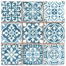 Blue And White Decorative Tiles Wall Arts Ceramic Wall Art Tiles Group Of 100 White Wall Art 94