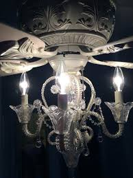 crystal chandelier light kit for ceiling fan amazing crystal chandelier light kit for ceiling fan fresh