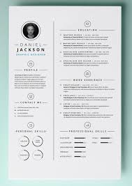 Free Resume Template For Word Fascinating 48 Resume Templates For MAC Free Word Documents Download School