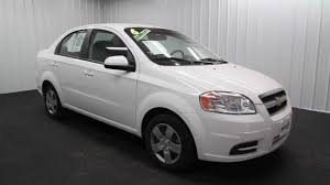 The KEY 2010 Chevrolet Aveo 4D Sedan EXT White INT Black - YouTube