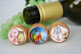 indian wine stopper native wine stopper cork stopper dream catcher stopper wine cork wedding stopper wine gift lover gift