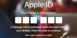 get apple verification code on a device