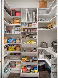 walk in pantry shelving systems with countertop for appliances