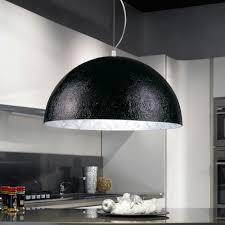 Sluceblister Pendelleuchte 70cm Schwarz Silber Esstischlampe