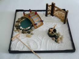 miniature japanese zen garden design