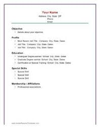 [ Basic Resume Examples Resumes Format Freshers Raw Example Simple Sample ]  - Best Free Home Design Idea & Inspiration