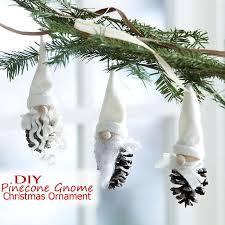 DIY Pine Cone Christmas Trees  Miniature Christmas Tree Caft DIY Pine Cone Christmas Tree Craft Project