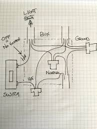 electrical how can i replace a single pole light switch with z how to wire a single pole switch with 3 wires at Wiring Diagram For Single Light Switch