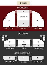 Pretty Woman Seating Chart Nederlander Theater New York Ny Seating Chart Stage