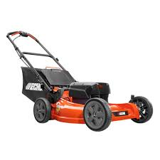 push lawn mower. 58-volt brushless lithium-ion cordless battery push lawn mower o