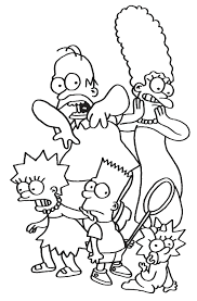 Cartoon Characters Coloring Pages Character In Print