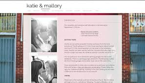 Wedding Website Example Love Party