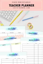 Free Printable Teacher Planner 45 School Organizing Templates
