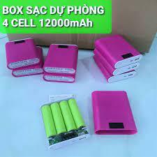 box sạc dự phòng 4 cell pin 18650 Chất Lượng, Giá Tốt 2021