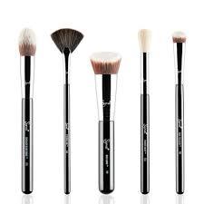 sigma baking and strobing makeup brush set