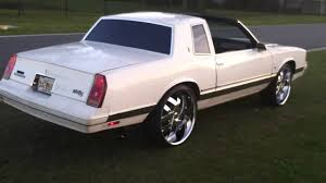 87 Monte Carlo Ls T-Top on 24's - YouTube
