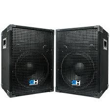 speakers 12 inch. left side of 12 inch loudspeaker speakers h