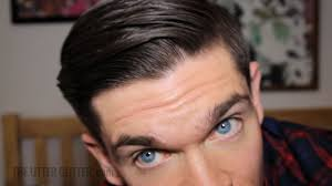 Mens Comb Over Hairstyle The Perfect Comb Over How To Youtube