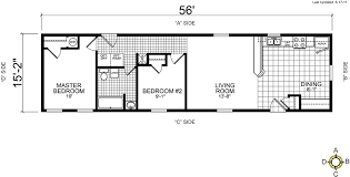 stylist design ideas single wide trailer floor plans 8 17 best images about on mobile