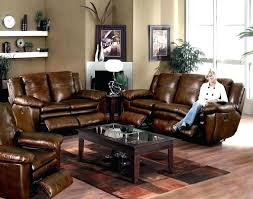 image of living room color schemes with brown leather furniture inspired