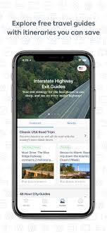 Trip Planner Calculator Roadtrippers Trip Planner Ios Navigation App Apps Card