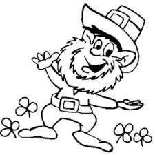 Small Picture This Leprechaun Doing St Patricks Day Dance Coloring Page Color Luna
