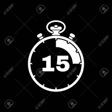 Timer 15 The 15 Seconds Minutes Stopwatch Icon Clock And Watch Timer