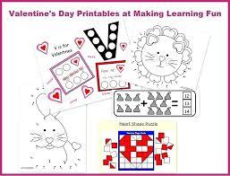 valentine math worksheets for kindergarten – nghean