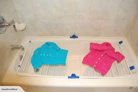 better housewares bathtub drying rack 70cm by