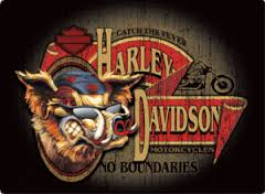 Harley Davidson Signs Decor Tin Signs Vintage Harley Davidson Signs Harley Wall Decor HD 20