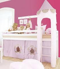 Hoppekids Halbhohes Bett »Fairytale Flower« | Matratze, Bett und ...