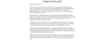 sample new employee wel e letter sample letter with lucy jordan within sample wel e letter