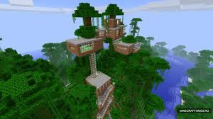 Minecraft Riese Baum Haus Karte Download Zhengbrilitinga