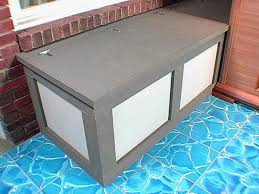 diy storage bench seat how build a