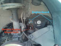 engine guard and motor mount