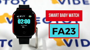 Детские GPS часы <b>smart baby watch</b> FA23 - YouTube