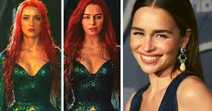 James wan's aquaman made quite the splash upon its 2018 heard plays mera, a xebellian princess and fierce ally of aquaman. Rumor Emilia Clarke Sustituira A Amber Heard Como Mera En Aquaman 2 No Somos Nonos