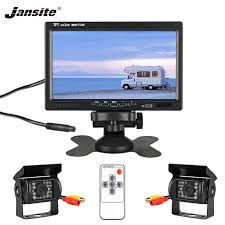 "Jansite <b>7</b>"" <b>TFT LCD Wired</b> HD Car Monitor Display Cameras ..."