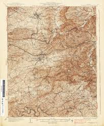 Virginia Historical Topographic Maps Perry Castañeda Map