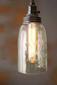 mason jar pendant lighting. Pendant Light, Rustic Half Gallon Open Bottom Mason Jar Lamp, Brown Lid Lighting J
