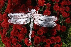 Dragonflies Wall Decor Dragonfly Papercut Etsy