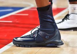 Kd Shoe Designer A Closer Look At Kevin Durants Navy Nike Kd 8 Elite All