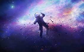 Astronaut Floating Space 4K Wallpaper #30