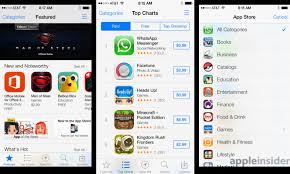 Inside Ios 7 Apples New App Store Simplifies App Updating