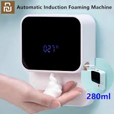 Youpin LED Display <b>Automatic Induction</b> Foaming Hand Washer ...