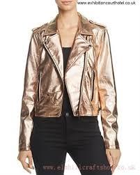 blanknyc metallic faux leather moto jacket rose gold pink women s jackets bargain 82zs2222 afikmnq014