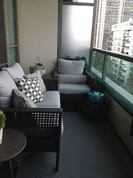 patio furniture for small balconies. Minimalist Design With Grey Small Balcony Furniture Patio For Balconies