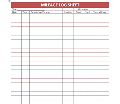 vehicle mileage form mileage log form vehicle expense relevant pictures pro thumb