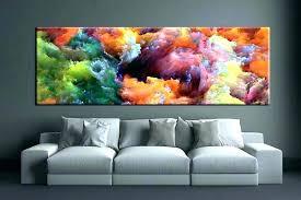 colorful metal wall art large decor geometric a