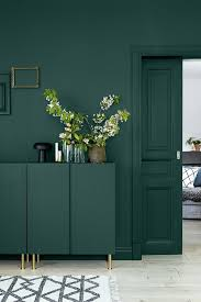 green walls color scheme. this is an intense hit of green for a bold interior design scheme - it\u0027s great to see how well painting the woodwork and furniture all in same colour walls color